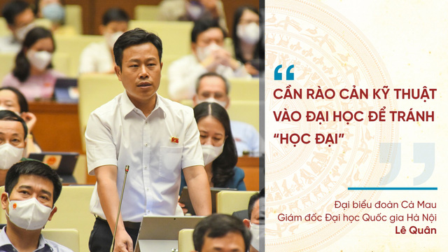 Những phát ngôn ấn tượng tại Kỳ họp thứ nhất Quốc hội khóa XV - Ảnh 6.