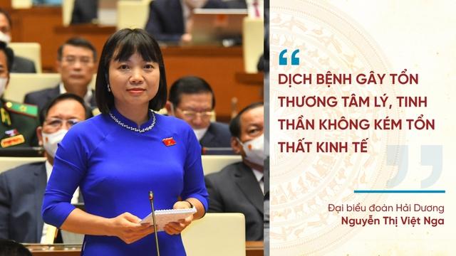 Những phát ngôn ấn tượng tại Kỳ họp thứ nhất Quốc hội khóa XV - Ảnh 8.
