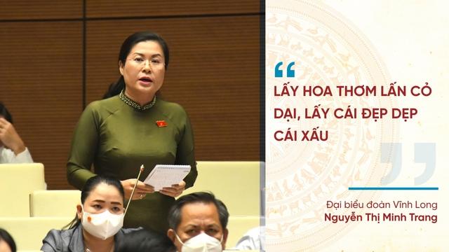 Những phát ngôn ấn tượng tại Kỳ họp thứ nhất Quốc hội khóa XV - Ảnh 10.
