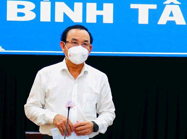 Bí thư Nguyễn Văn Nên nêu lý do không giãn cách theo Chỉ thị 16 toàn TPHCM - Ảnh 3.