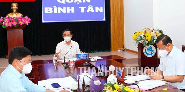 Bí thư Nguyễn Văn Nên nêu lý do không giãn cách theo Chỉ thị 16 toàn TPHCM - Ảnh 1.
