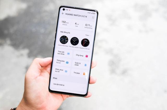 Trải nghiệm Huawei Watch 3 - mẫu smartwatch đầu tiên chạy hệ điều hành Harmony OS - Ảnh 9.