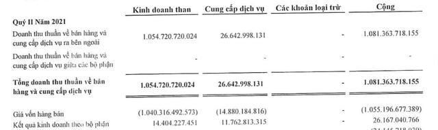 Đầu tư Tổng hợp Hà Nội (SHN): Kinh doanh than kém hiệu quả, quý 2 lãi giảm 96% so với cùng kỳ - Ảnh 1.