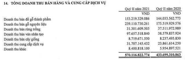 Vinafor (VIF) báo lãi quý 2 cao gấp 7 lần cùng kỳ nhờ lợi nhuận từ công ty liên doanh liên kết - Ảnh 1.