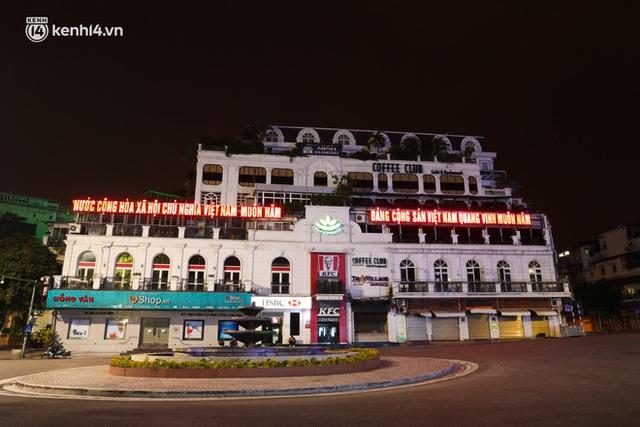 Ảnh: Đêm Hà Nội vắng hơn Tết, đường phố không một bóng người trong những ngày giãn cách xã hội - Ảnh 15.