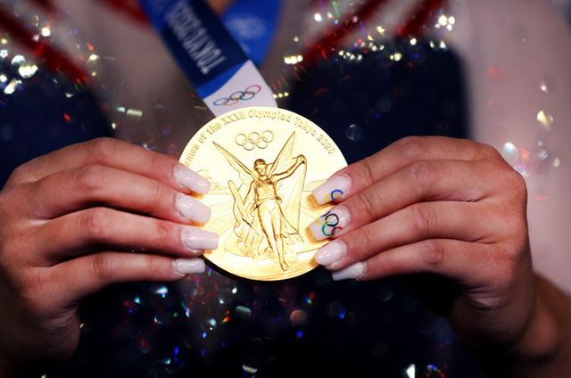 Nữ VĐV dân tộc HMông giành HCV Olympic Tokyo  - Ảnh 3.
