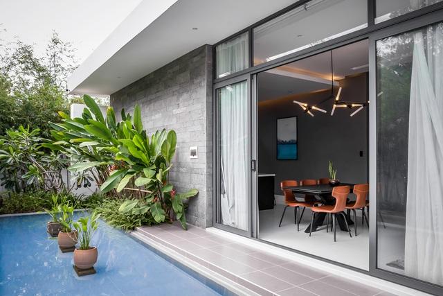 Ngôi nhà cấp 4 đẹp, được thiết kế như bungalow trong resort: Gia chủ tận hưởng không gian xanh, thư giãn ngay lại nhà mà không cần đi du lịch - Ảnh 11.