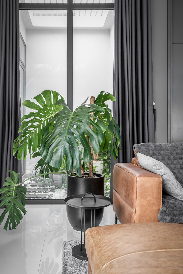 Ngôi nhà cấp 4 đẹp, được thiết kế như bungalow trong resort: Gia chủ tận hưởng không gian xanh, thư giãn ngay lại nhà mà không cần đi du lịch - Ảnh 5.