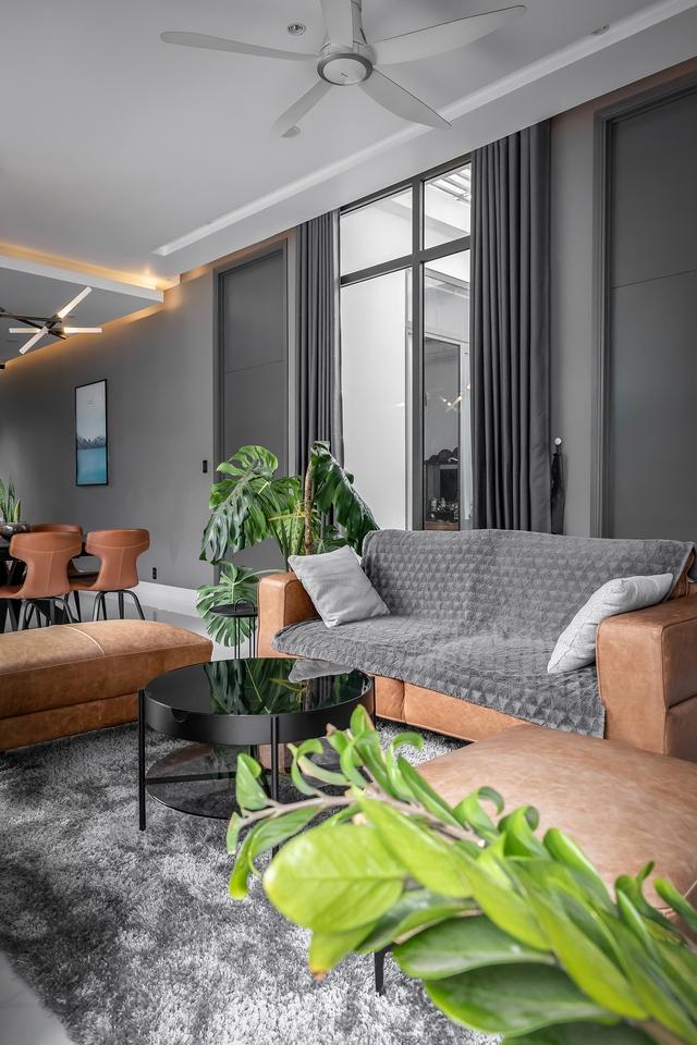Ngôi nhà cấp 4 đẹp, được thiết kế như bungalow trong resort: Gia chủ tận hưởng không gian xanh, thư giãn ngay lại nhà mà không cần đi du lịch - Ảnh 6.