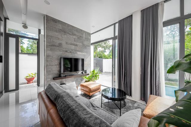 Ngôi nhà cấp 4 đẹp, được thiết kế như bungalow trong resort: Gia chủ tận hưởng không gian xanh, thư giãn ngay lại nhà mà không cần đi du lịch - Ảnh 3.