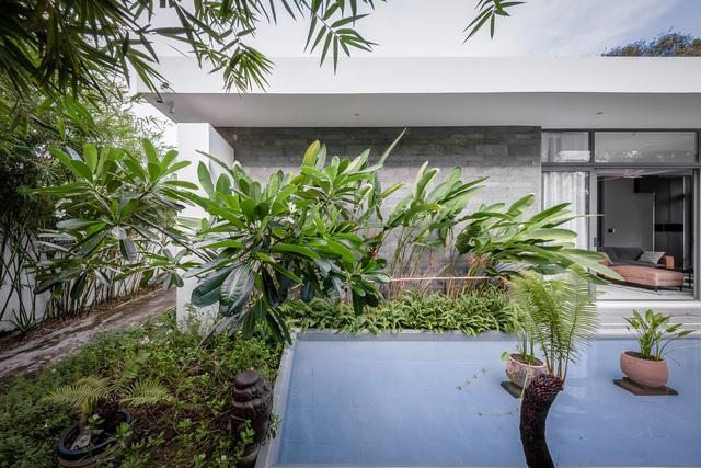 Ngôi nhà cấp 4 đẹp, được thiết kế như bungalow trong resort: Gia chủ tận hưởng không gian xanh, thư giãn ngay lại nhà mà không cần đi du lịch - Ảnh 13.