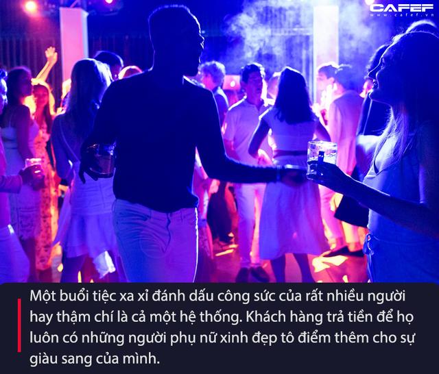 Giải mã hệ thống kinh tế ngầm sau những bữa tiệc rượu trụy lạc: Chân dung những kẻ sống bám vào nhan sắc của các cô gái trẻ (phần 2)  - Ảnh 3.