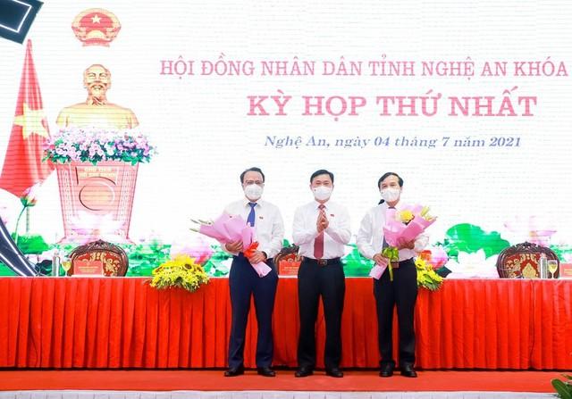 Bí thư Tỉnh ủy Nghệ An Thái Thanh Quý được bầu làm Chủ tịch HĐND tỉnh - Ảnh 1.