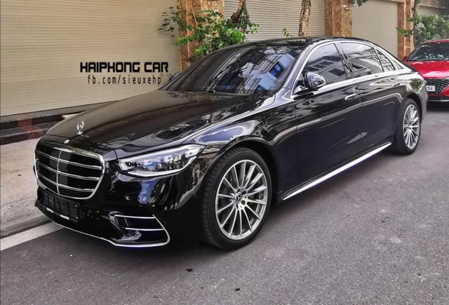 Mercedes-Benz S 500 2021 màu đen bất ngờ lăn bánh tại Hải Phòng: Chiếc thứ hai của đại gia Việt, giá tham khảo gần 10 tỷ đồng - Ảnh 1.