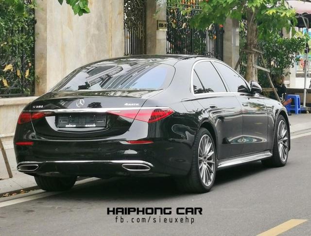 Mercedes-Benz S 500 2021 màu đen bất ngờ lăn bánh tại Hải Phòng: Chiếc thứ hai của đại gia Việt, giá tham khảo gần 10 tỷ đồng - Ảnh 2.