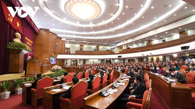 Khai mạc Hội nghị Trung ương 3: Kiện toàn nhân sự để trình ra Quốc hội  - Ảnh 7.