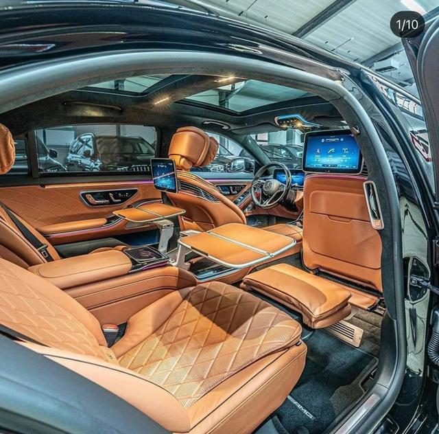 Mercedes-Benz S 500 2021 màu đen bất ngờ lăn bánh tại Hải Phòng: Chiếc thứ hai của đại gia Việt, giá tham khảo gần 10 tỷ đồng - Ảnh 7.