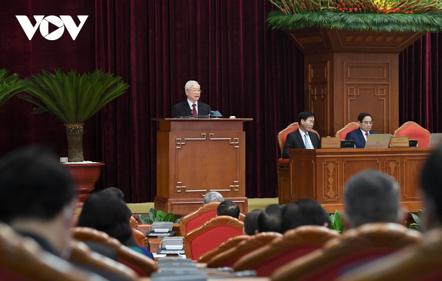 Khai mạc Hội nghị Trung ương 3: Kiện toàn nhân sự để trình ra Quốc hội  - Ảnh 8.