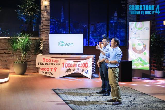 Shark Liên đã đánh bật Shark Hưng trong thương vụ đầu tư hơn 1 triệu USD vào iGreen, chỉ vì lý do...mua cổ phần để tặng cho người đàn ông đã hỗ trợ tôi vô điều kiện trong cuộc đời này - Ảnh 2.