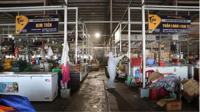 Chợ đầu mối Bình Điền tạm đóng cửa từ 8 giờ sáng 6-7 - Ảnh 1.