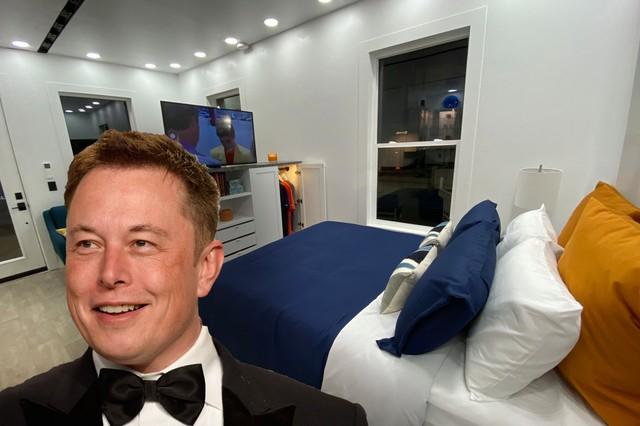 """Vén màn bí mật bên trong nhà đi thuê """"tí hon"""" vỏn vẹn 36m2 của Elon Musk: 1 chi tiết cực gắt nhưng tỷ phú bảo trên cả tuyệt vời - Ảnh 1."""