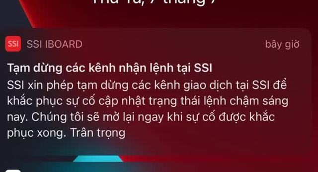 Ông Lê Hải Trà giải thích về sự cố ở các công ty chứng khoán sáng 7-7  - Ảnh 1.