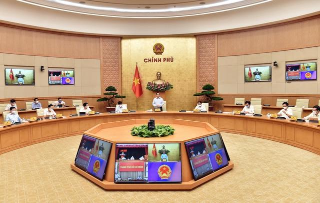 Thủ tướng Phạm Minh Chính: Dành tất cả những gì tốt nhất cho TPHCM chống dịch - Ảnh 1.