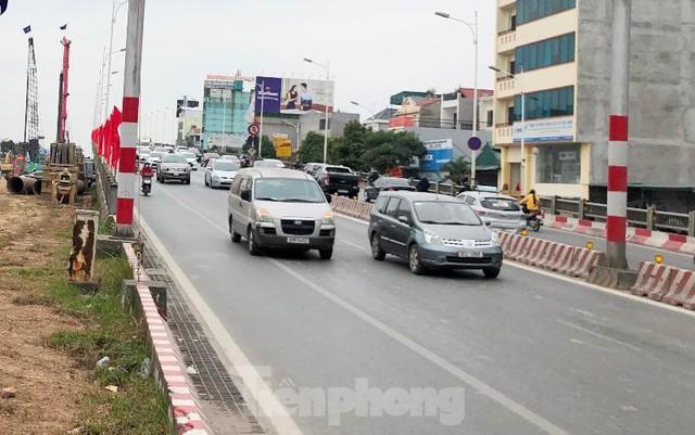 Hiện trạng cầu Vĩnh Tuy 2 sau 6 tháng khởi công - Ảnh 13.