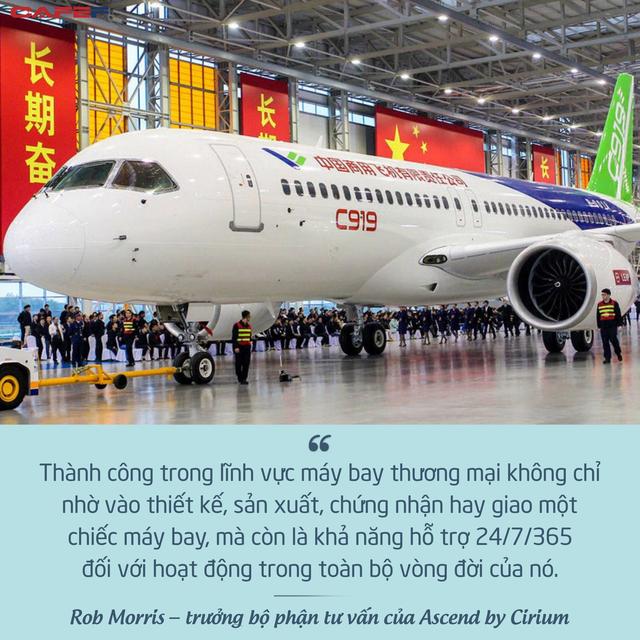 Máy bay Made in China chính thức xuất hiện, thế độc quyền của Airbus và Boeing sắp bị phá vỡ? - Ảnh 2.