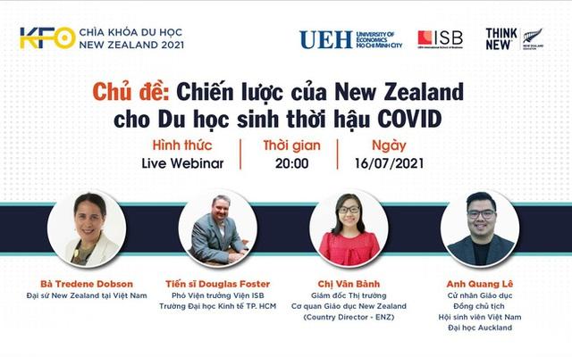 KFO-Chìa khoá du học New Zealand 2021: Du học sinh Việt nhìn từ Đại học Waikato - Ảnh 2.