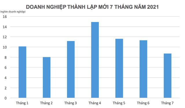 Hơn 29% doanh nghiệp rút lui khỏi thị trường trong 7 tháng đầu năm là ở TP.HCM - Ảnh 1.