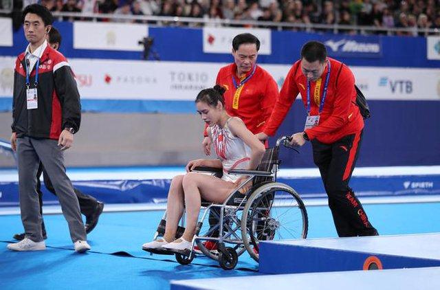 Khoảnh khắc chấn thương của nữ thần TDDC Trung Quốc bất ngờ gây sốt và kết cục đáng tự hào ở Olympic Tokyo 2020 - Ảnh 7.