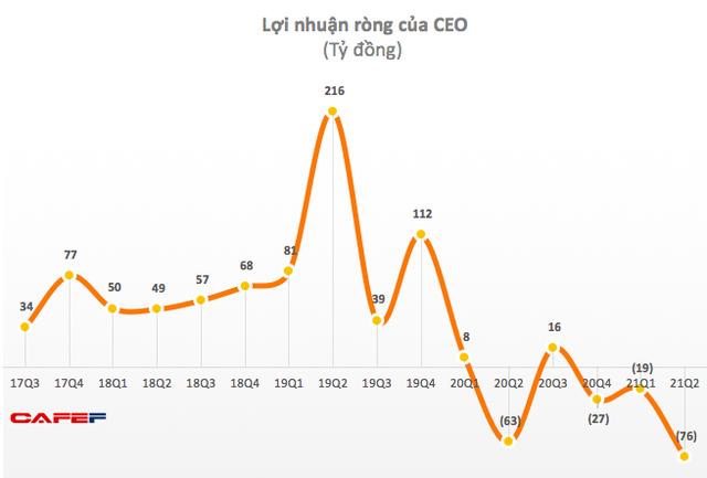 CEO Group (CEO): Quý 2 lỗ lớn 76 tỷ đồng - cao nhất trong lịch sử hoạt động - Ảnh 1.