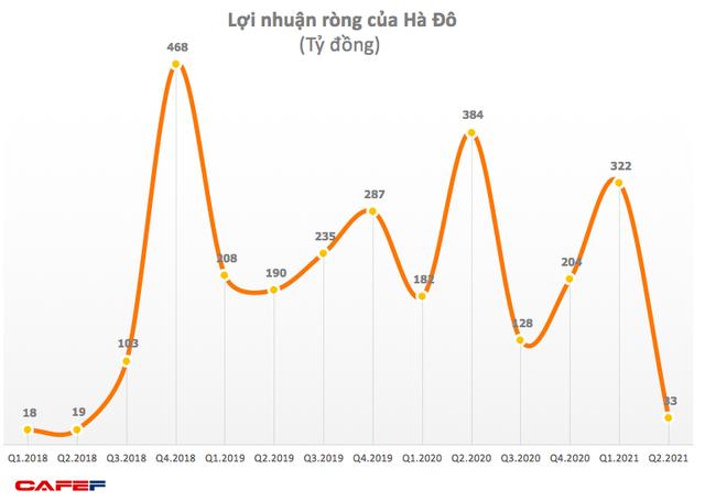 Hà Đô (HDG): Doanh thu BĐS sụt giảm, quý 2 lãi ròng 33 tỷ đồng giảm 91% so với cùng kỳ 2020 - Ảnh 1.