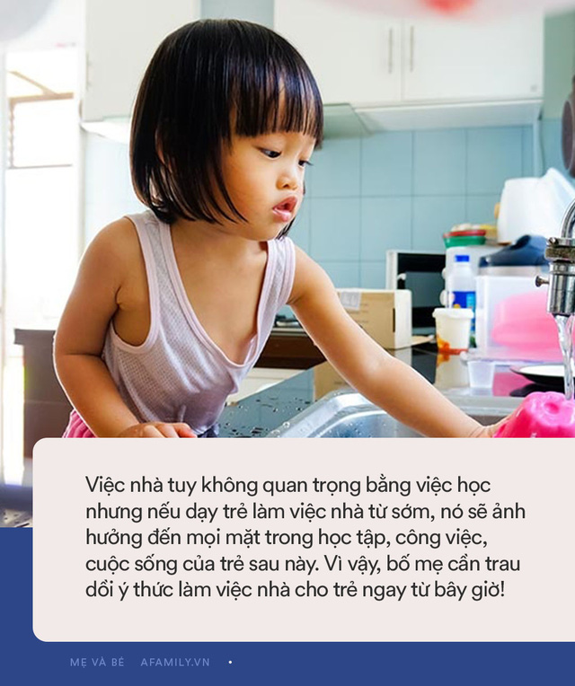 Nghiên cứu của ĐH Harvard: Không dạy trẻ làm việc nhà, lớn lên con khó thành công  - Ảnh 3.