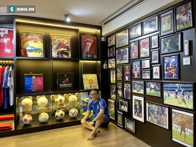 Doanh nhân trả 206 triệu đấu giá chiếc HCV của Trọng Hoàng: Tôi chưa bao giờ nghĩ sẽ làm một ông bầu bóng đá - Ảnh 6.