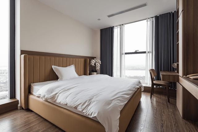 Khám phá căn hộ duplex sở hữu tầm view bao trọn sông Hồng trong khu nhà giàu bậc nhất Hà Nội - Ảnh 6.