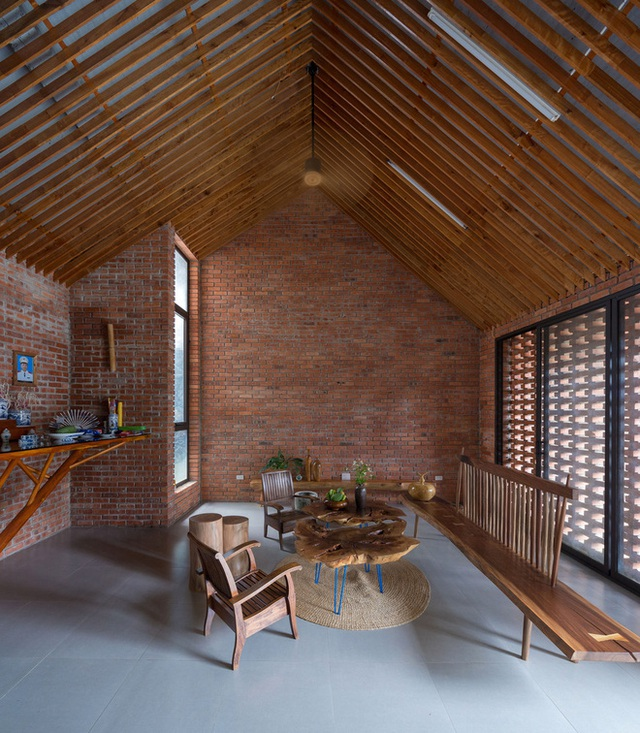 Ngôi nhà gạch thiết kế ngẫu hứng trên sườn đồi ở Sơn La xuất hiện trên báo Mỹ - Ảnh 10.