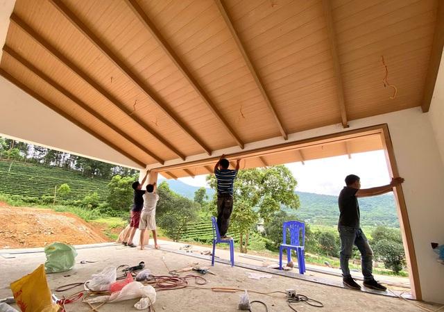 Bỏ phố về rừng, đôi vợ chồng trẻ đầu tư hơn 4 tỷ mua đất, xây ngôi nhà mang phong cách Nhật Bản đẹp như mơ - Ảnh 5.
