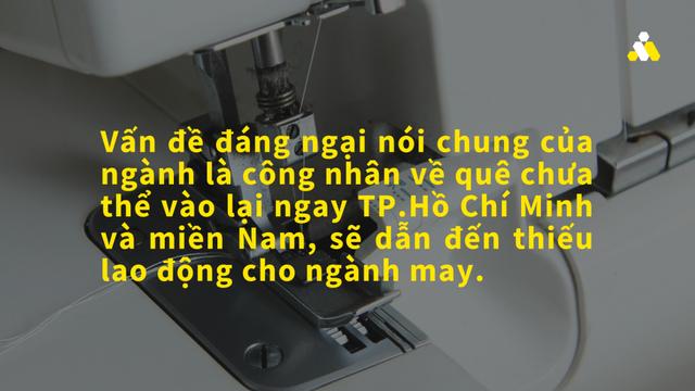 Dệt may Việt Nam: Áp lực từ ngưng trệ sản xuất, thiếu lao động - Ảnh 3.