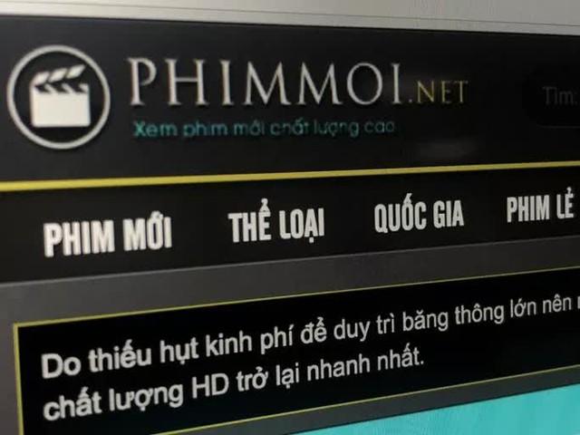 Công an TP HCM khởi tố vụ án hình sự liên quan website phimmoi.net  - Ảnh 1.