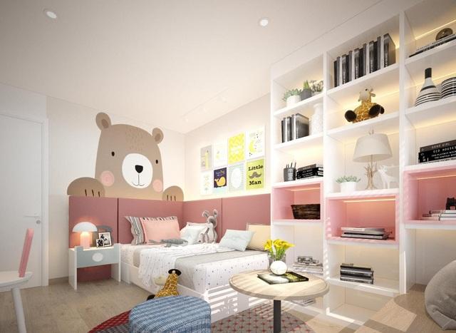 """Không gian căn hộ 99m2 thoáng đãng, rất chill của gia đình thích đọc sách, yêu âm nhạc sau khi được KTS khuyên: """"Thiết kế không gian sống cần lâu dài, đừng ở tạm bợ như ăn ổ bánh mỳ, uống ly sữa"""" - Ảnh 9."""