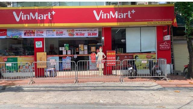 Danh sách 23 siêu thị VinMart, VinMart+ tạm đóng cửa vì liên quan ca nhiễm Covid-19 - Ảnh 1.