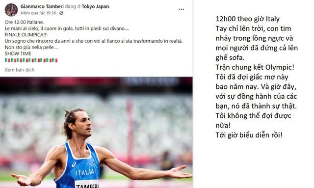 Lãng tử Italy vô địch nhảy cao Olympic Tokyo cùng linh vật đặc biệt - biểu tượng của sự vươn lên từ tro tàn - Ảnh 6.