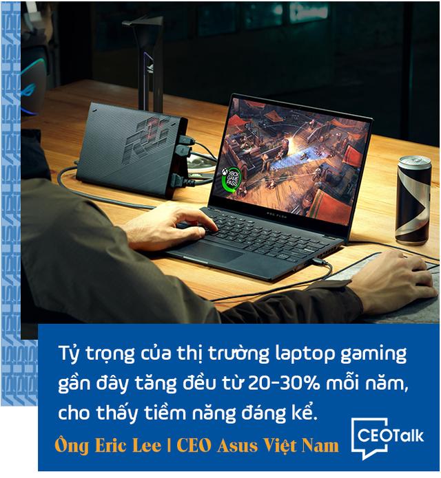 CEO Asus Việt Nam: Trong giai đoạn này, laptop chính là hàng thiết yếu - Ảnh 6.