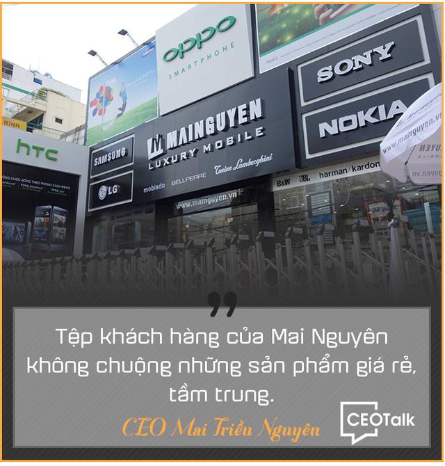 CEO Mai Triều Nguyên: Từ bán đĩa CD đến điện thoại Vertu, Mobiado giá hàng trăm triệu đồng - Ảnh 6.