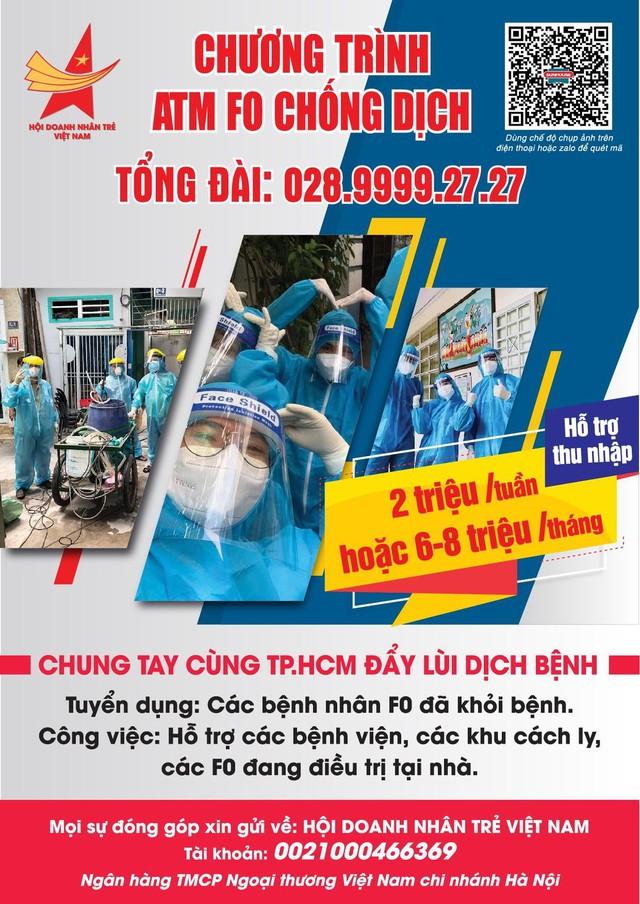 Shark Phú ủng hộ 800 triệu đồng vào ATM F0, quỹ hỗ trợ kinh phí cho các F0 khỏi bệnh quay lại bệnh viện hỗ trợ y bác sĩ chống dịch - Ảnh 1.
