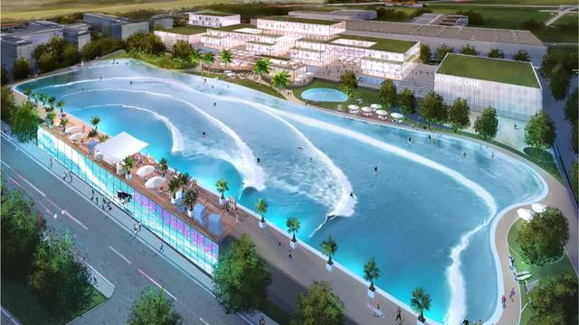 Đại đô thị 460ha với khu phức hợp bể bơi tạo sóng lớn nhất thế giới chuẩn bị được xây dựng tại Văn Giang, Hưng Yên - Ảnh 4.