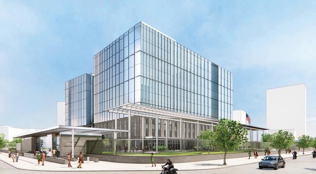 Mỹ sắp xây Đại sứ quán 1,2 tỷ USD, lấy cảm hứng từ Vịnh Hạ Long và vẻ đẹp của Hà Nội: Bên trong có gì? - Ảnh 1.