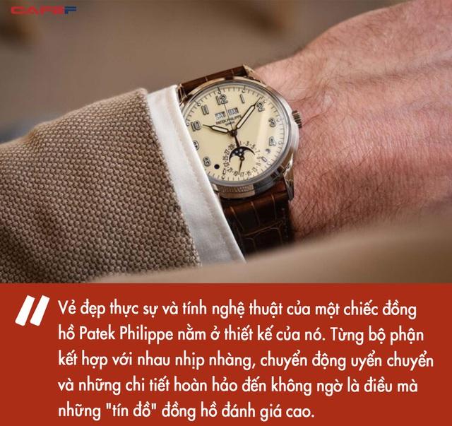 Giải mã bí mật của sự xa xỉ: đồng hồ Patek Philippe có gì mà giới nhà giàu lại khao khát sở hữu đến vậy ? - Ảnh 4.